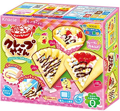 Popin' Cookin' Kracie DIY kit Crepe shop