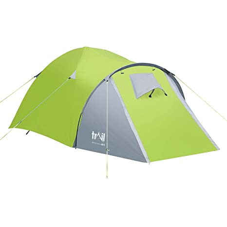 73af80561b9 Trail 2 Man Dome Tent With Large Porch Camping Festival Waterproof 3000mm HH