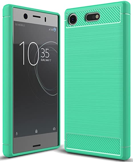 factory price 6fa3c 4e3f8 Sony Xperia XZ1 Compact Case, Sony Xperia XZ1 Mini Case, Sucnakp TPU Shock  Absorption Technology Raised Bezels Protective Case Cover for Sony Xperia  ...