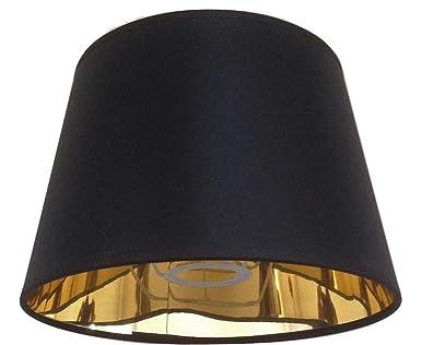 203 Cm Schwarz Empire Lampenschirm Gold Futter Lampenschirm