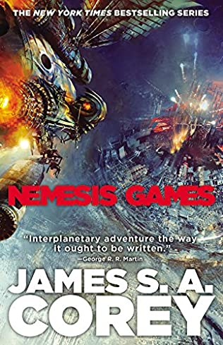book cover of Nemesis Games
