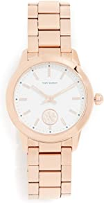 Tory Burch Women's Collins Watch, 32mm, Rose Gold, One Size