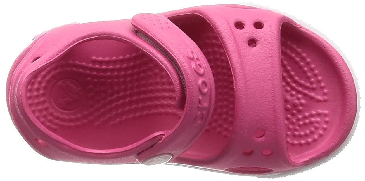 ffac2d1c175259 crocs Boy s Crocband II PS Sea Blue and White Rubber Sandals and Floaters   Buy Online at Low Prices in India - Amazon.in