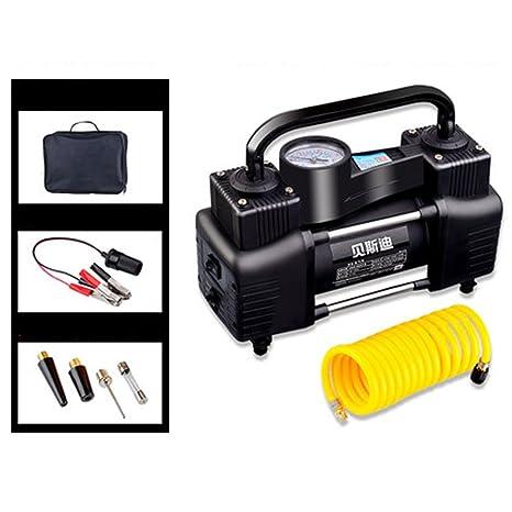 Q&F Q&FCompresor bomba 12vcar bomba de inflado de neumático de aire 12v Dc Para el coche