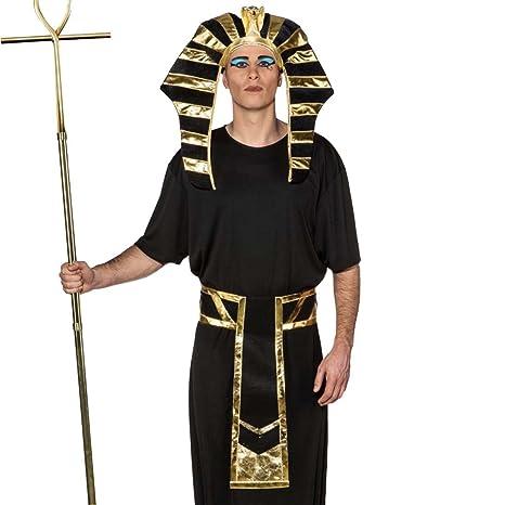 NET TOYS Set Costume da Faraone Accessori Re d Egitto Copricapo e Cintura -  Ornamento ce1615ee4c4