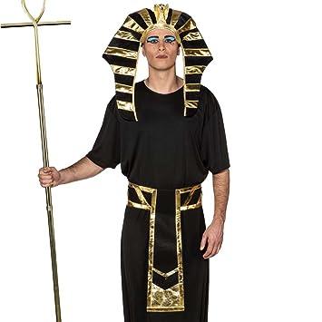 NET TOYS Set Disfraz faraón Accesorios Rey Egipcio Sombrero ...