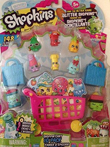 shopkins season 1 shoppin cart 10 pack shopping carts amazon