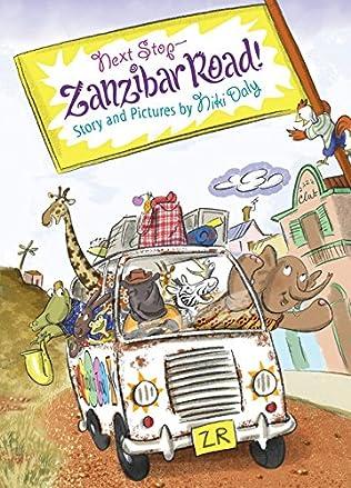 book cover of Next Stop - Zanzibar Road!