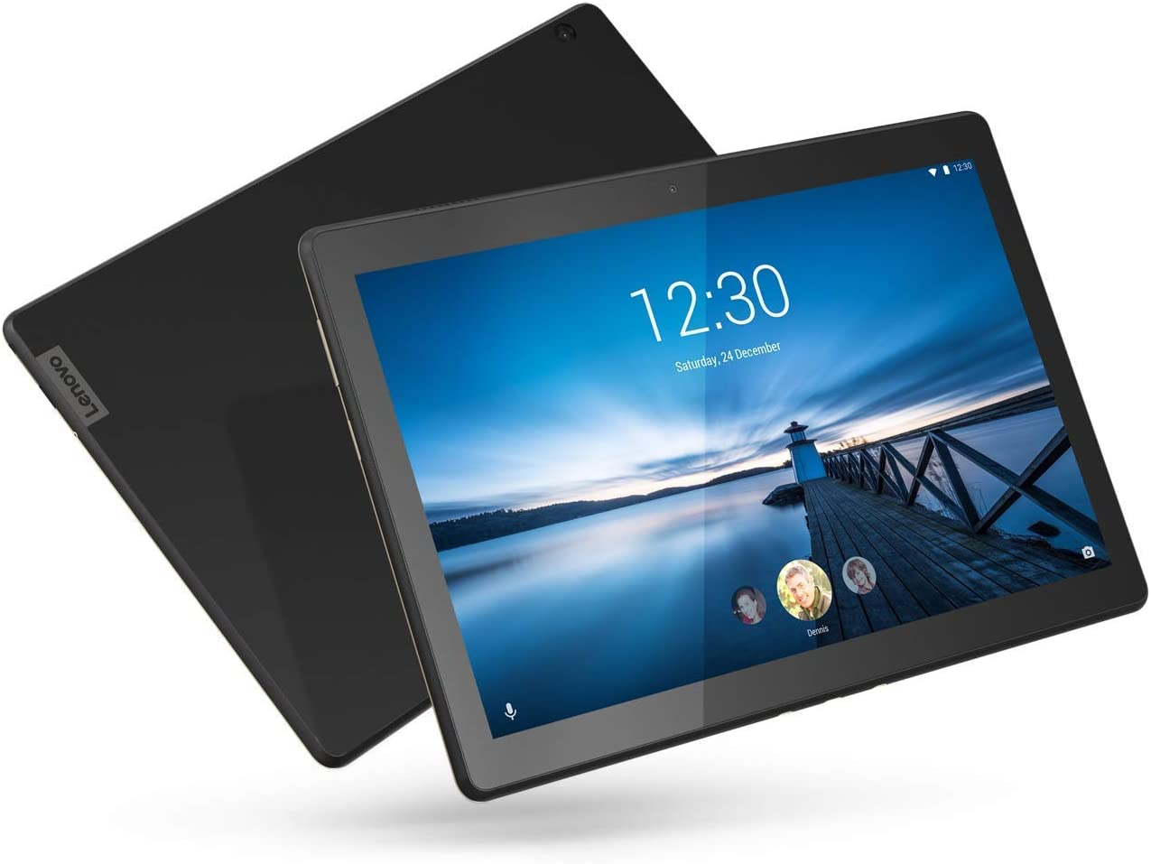 """Lenovo Smart Tab M10 10.1"""" Android Tablet, Alexa-Enabled Smart Device with Smart Dock Featuring 2 Dolby Atmos Speakers - 16GB Storage with Alexa Enabled Charging Dock Included (Renewed)"""