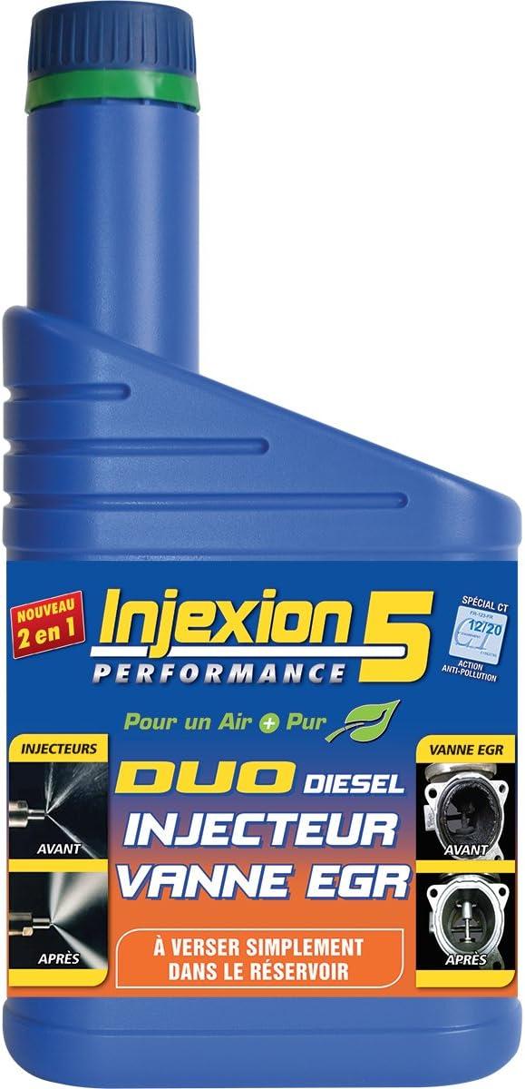 INJEXION 5 IDADUO Duo Diesel Injecteur Vanne EGR