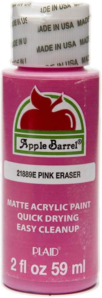 Apple Barrel Pink Eraser Paint