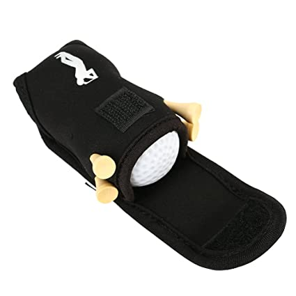 Amazon Com Golf Ball Tee Holder Utility Pouch Sports Golfing