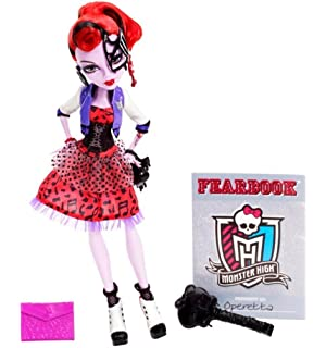 monster high bbj73 poupe operetta picture day - Les Monster High