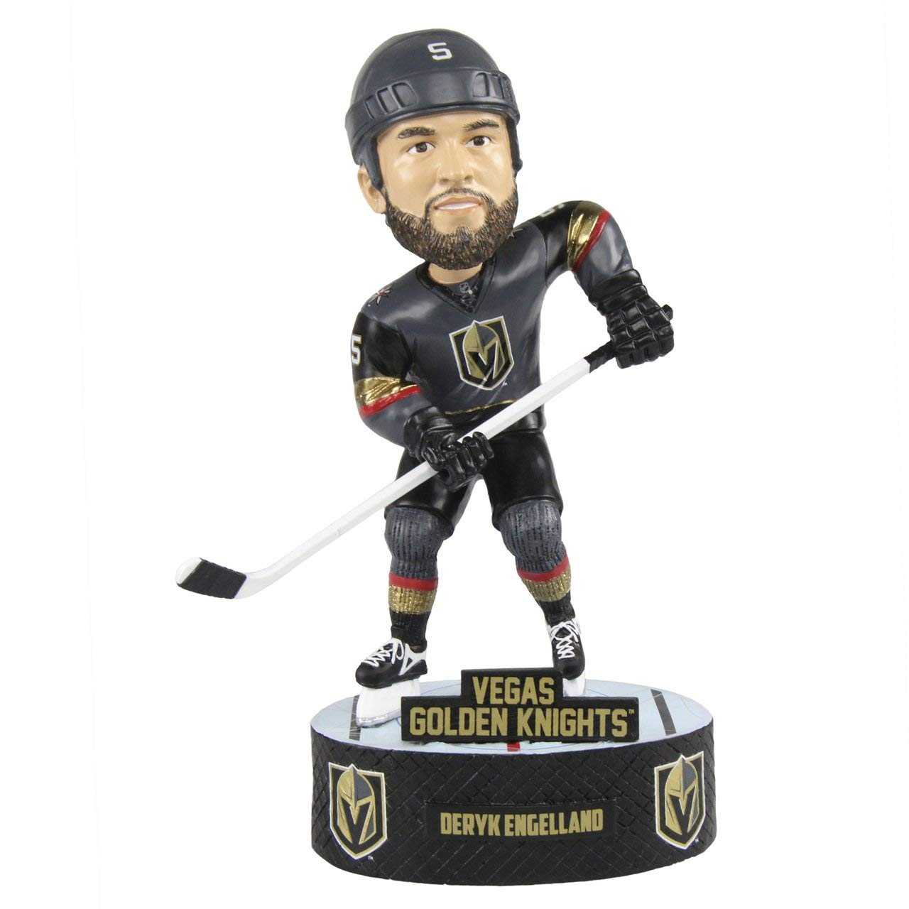 Forever Collectibles Deryk Engelland Las Vegas Golden Knights Baller Special Edition Bobblehead NHL