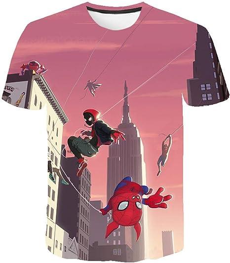 XIAOKEAI Camiseta De Manga Corta para Hombre, 2019 El Verano AlgodóN Hip Hop Casual La Moda 3D Dibujos Animados Imprimiendo Cuello Redondo La Camisa Camiseta: Amazon.es: Deportes y aire libre