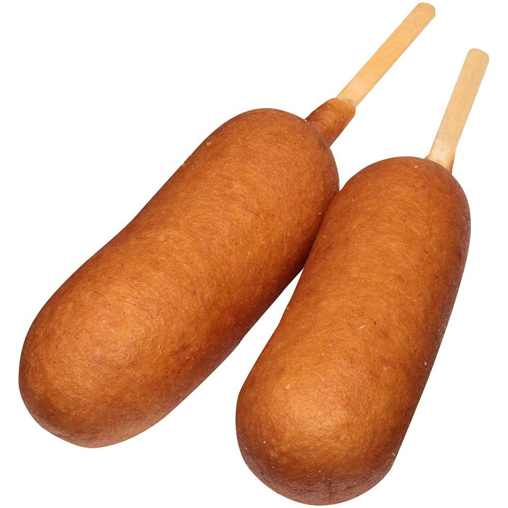 State Fair Jumbo Beef Corn Dog, 4 Ounce - 48 per case.