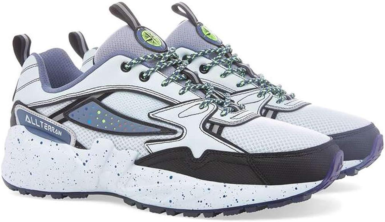 Fila Mindblender - Zapatillas para correr para hombre, Gris (Par/Fila Gris/Negro), 44 EU: Amazon.es: Zapatos y complementos