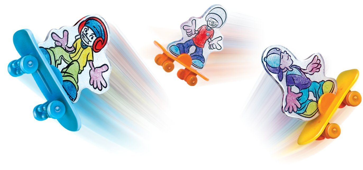 Shrinky Shiny Skateboards Orda USA 9725467 Small World Toys Creative