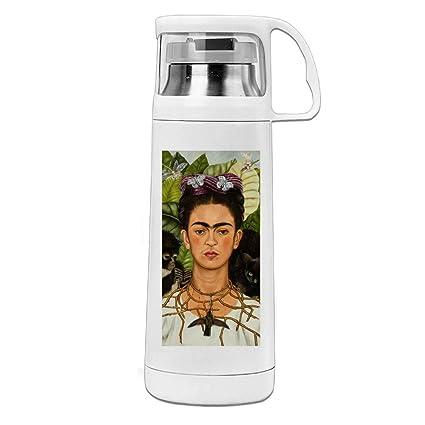 Frida kahlo. Jpg Thermos botella de agua con un mango ...
