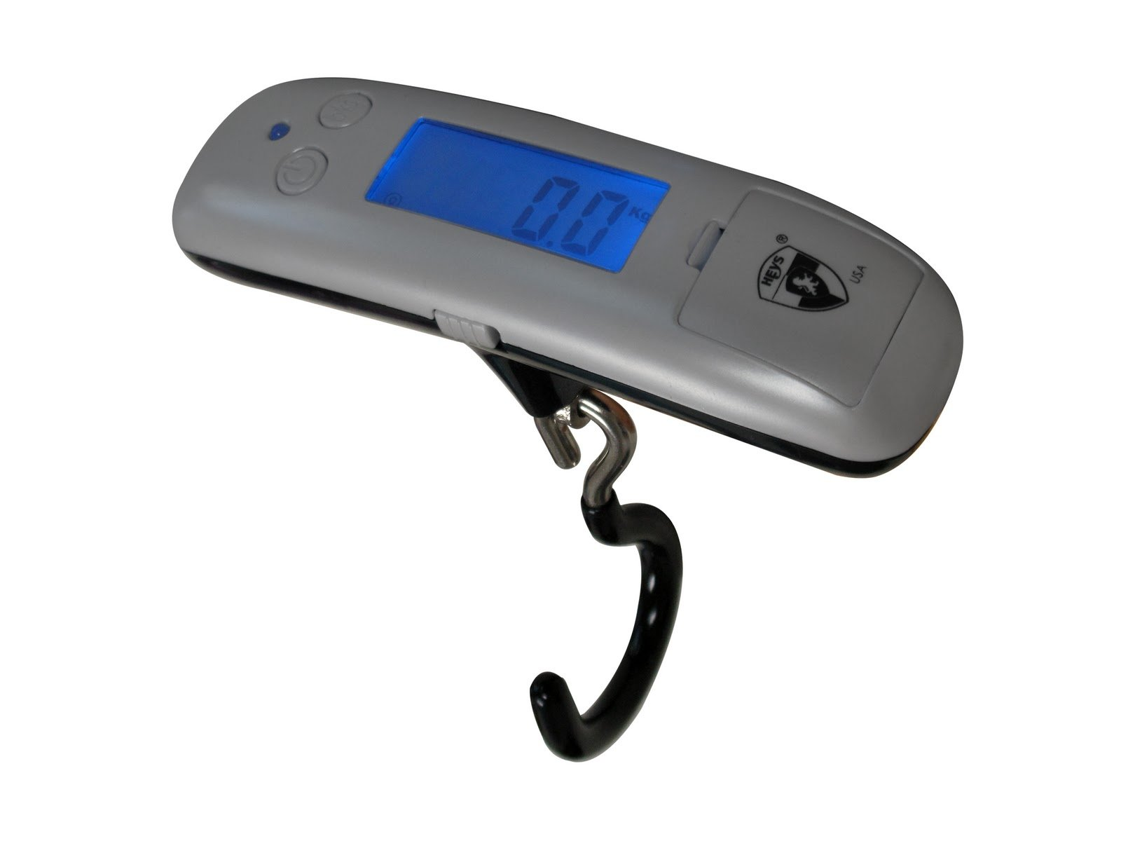 Heys Luggage Micro Scale, Silver, One Size