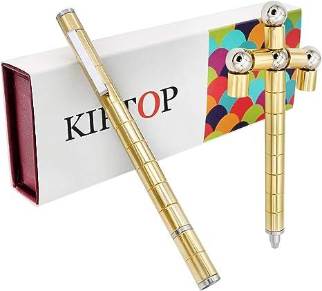 KIPTOP-Mejor Polaridad Magn/ética M/ágica Regalo Regalo de Creativo Maravillosa Pluma de Oro de Color
