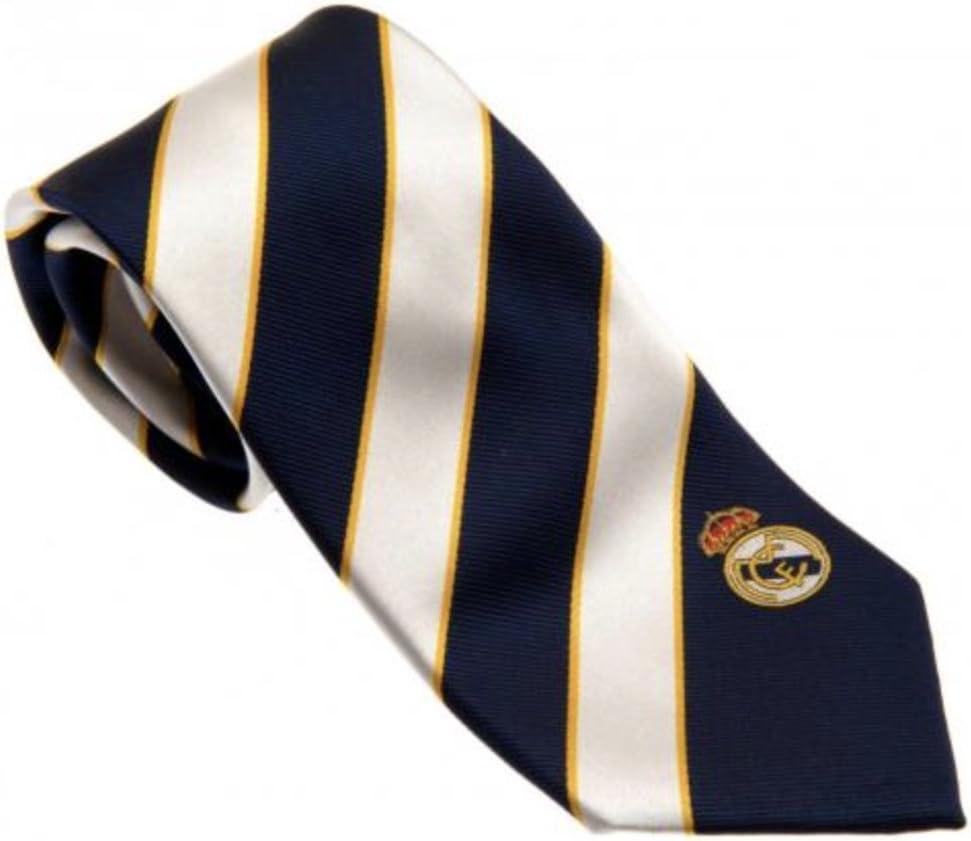 Club Licensed Real Madrid - Corbata a Rayas, Color Azul y Blanco ...