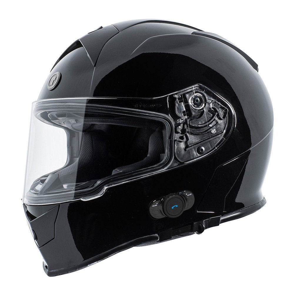 TORC T14B Blinc - Casco de moto con Bluetooth integrado ...
