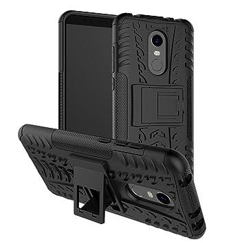 Funda Xiaomi Redmi 5 Plus Ruckway®,cáscara del teléfono,la banda de rodadura/Armor Tough,manguito protector bicapa mixto resistente a los golpes ...