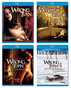 Wrong Turn Collection (1-4) [Blu-ray]