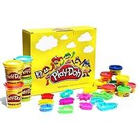 Hasbro 孩之宝 Play-Doh 培乐多 Amazon专属定制手工彩泥入门套装 妙趣小套装*4+单杯装彩泥*4