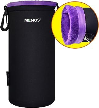 Neoprene Camera Sleeve Case Neoprene for DSLR Camera L MENGS Large Size