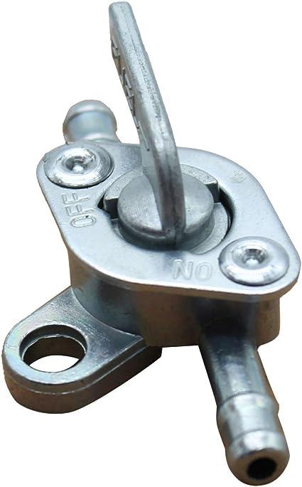 Takpart 1 X Benzinhahn Kraftstoffhahn Benzinventil Absperrung Für 6mm Benzin Schlauch Auto