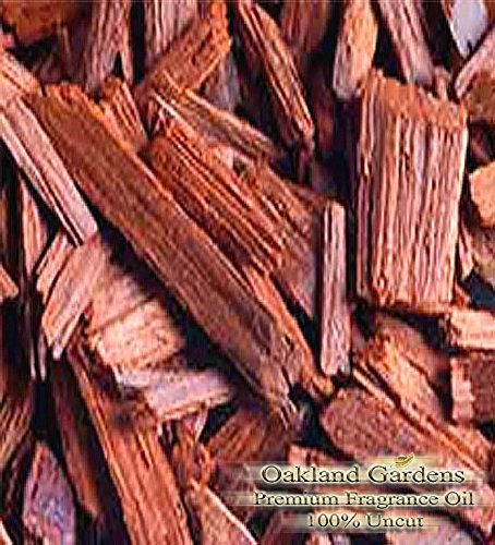 SANDALWOOD Fragrance Oil - Strongly aromatic oriental wood. A terrific warm base note - By Oakland Gardens