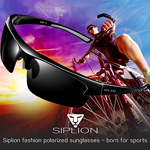 2dd610d320 SIPLION Men s Polarized Sunglasses Sports Glasses for Cycling - Import It  All