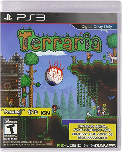 Terraria – PlayStation 3 (digital game download card only)
