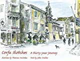 Front cover for the book Corfu Sketches: A Thirty-year Journey by John Waller