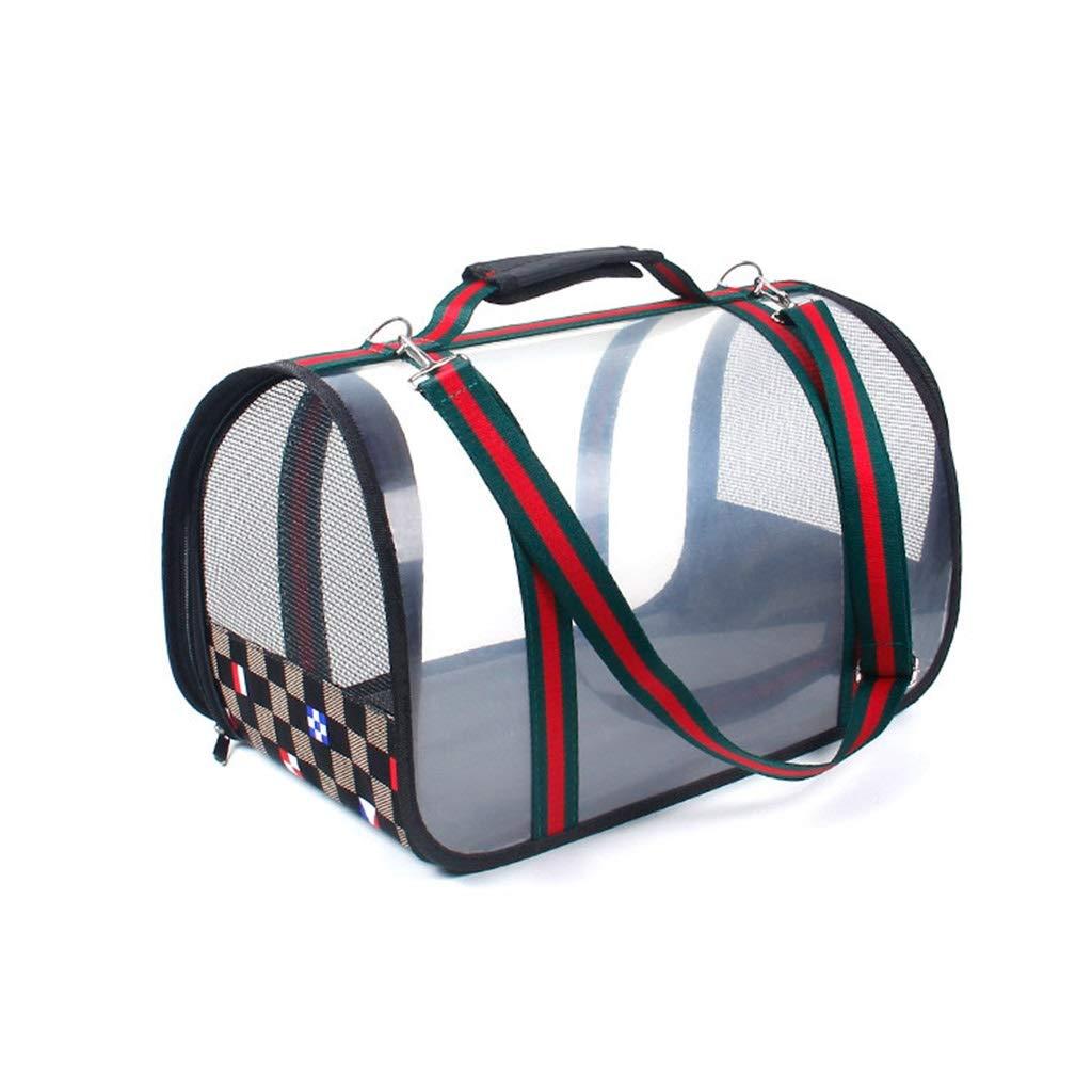 B SMALL B SMALL Pet Bag Cat Bag Kennel Can Be Shoulder Bag Diagonal Cross Breathable Comfortable Folding Car Bag Portable Pet Supplies (color   B, Size   Small)