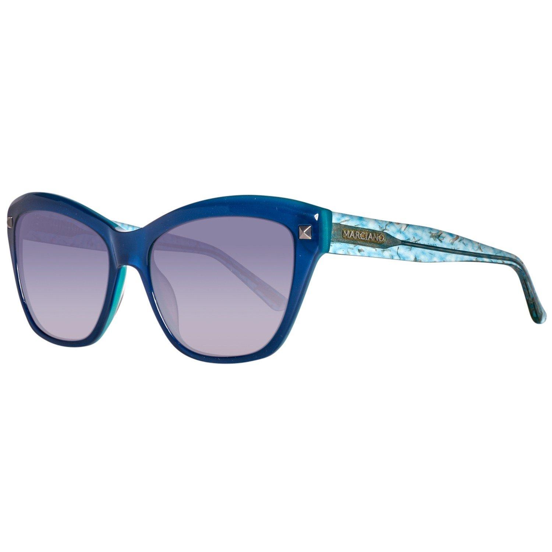 Guess Sonnenbrille GM07415690B Gafas de sol, Azul (Blau), 57 ...
