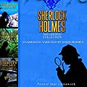 Sherlock Holmes: The Griffin Collection - Three Sherlock Holmes Mysteries in One Book Audiobook by Pennie Mae Cartawick Narrated by Simon Prebble