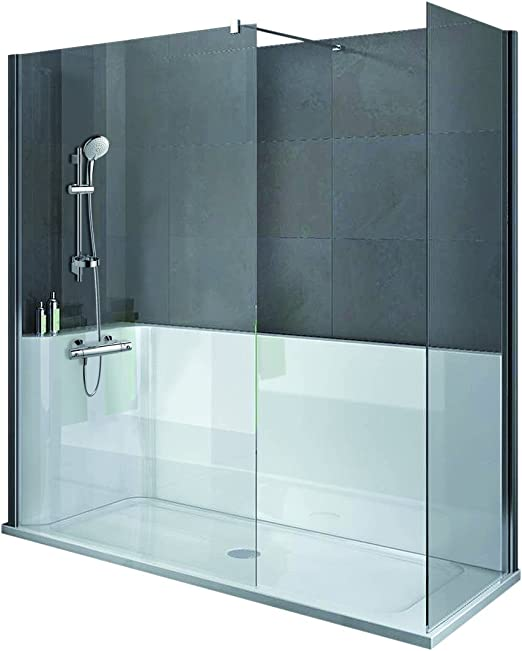 Ideal Standard K6917-01 Receveur de douche dangle 80 x 80 cm en r/ésine sans bonde