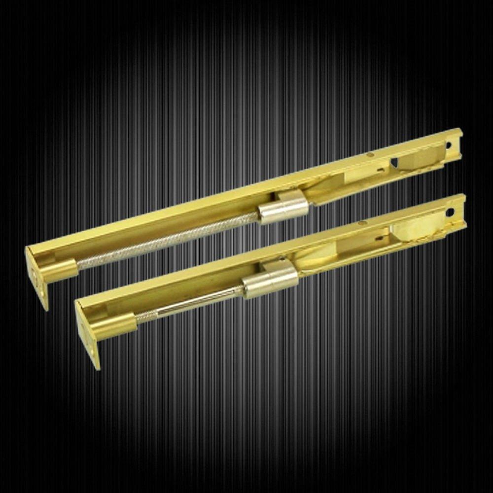 New Luxury Brass Door Bolt Latch Lever Action Flush Slide Door Lock Bolt 8inch(20cm)