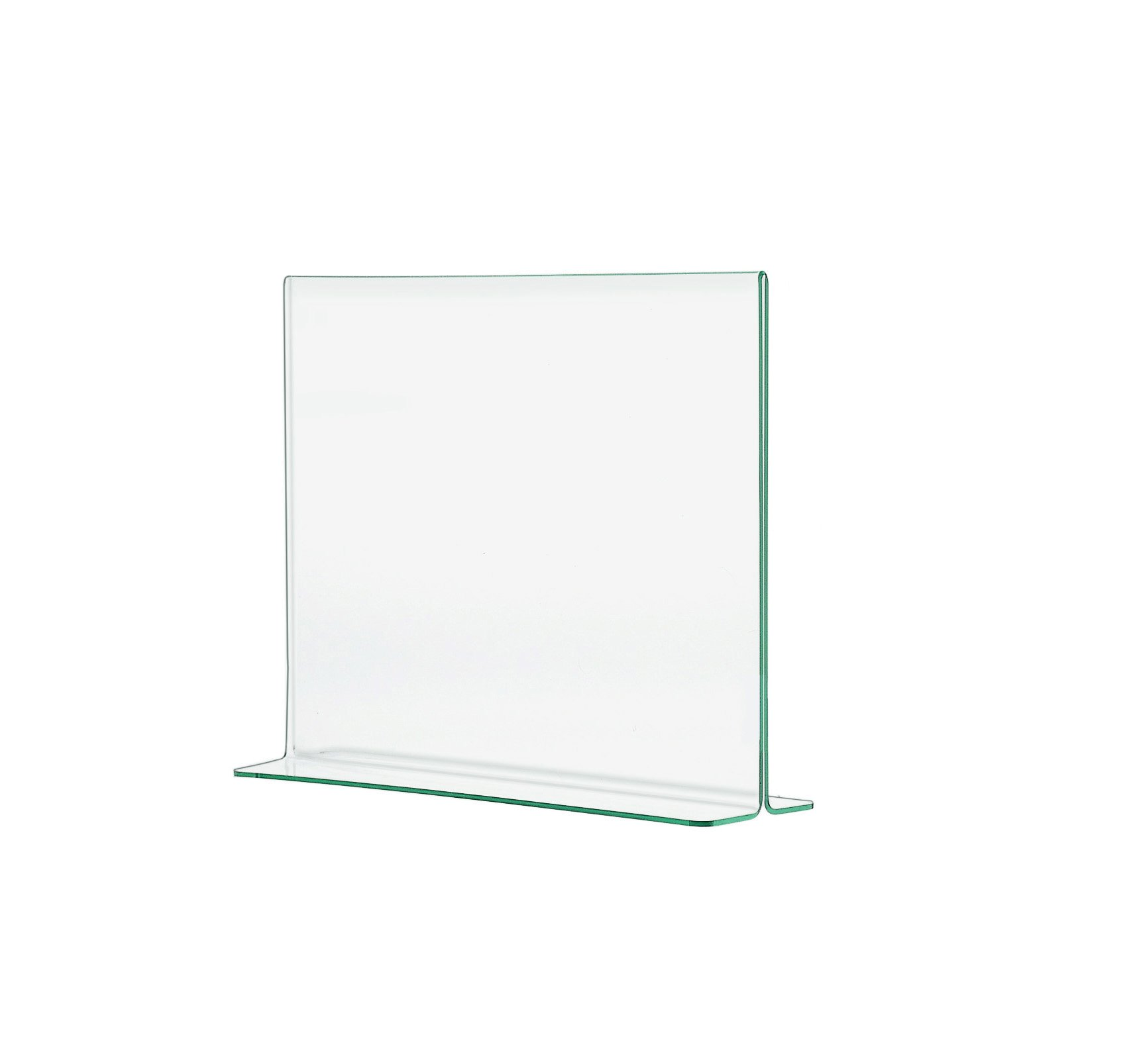 Marketing Holders Superior Image or Literature Frame Counter Table Premium Green Edge Ad Menu Poster Flyer Sign Holder 11''w x 8.5''h Qty 6