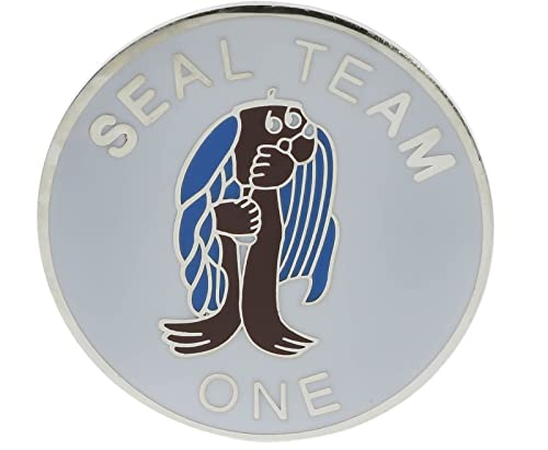 Amazon.com: US Navy SEAL Team 1 One Hat or Lapance Pin ...