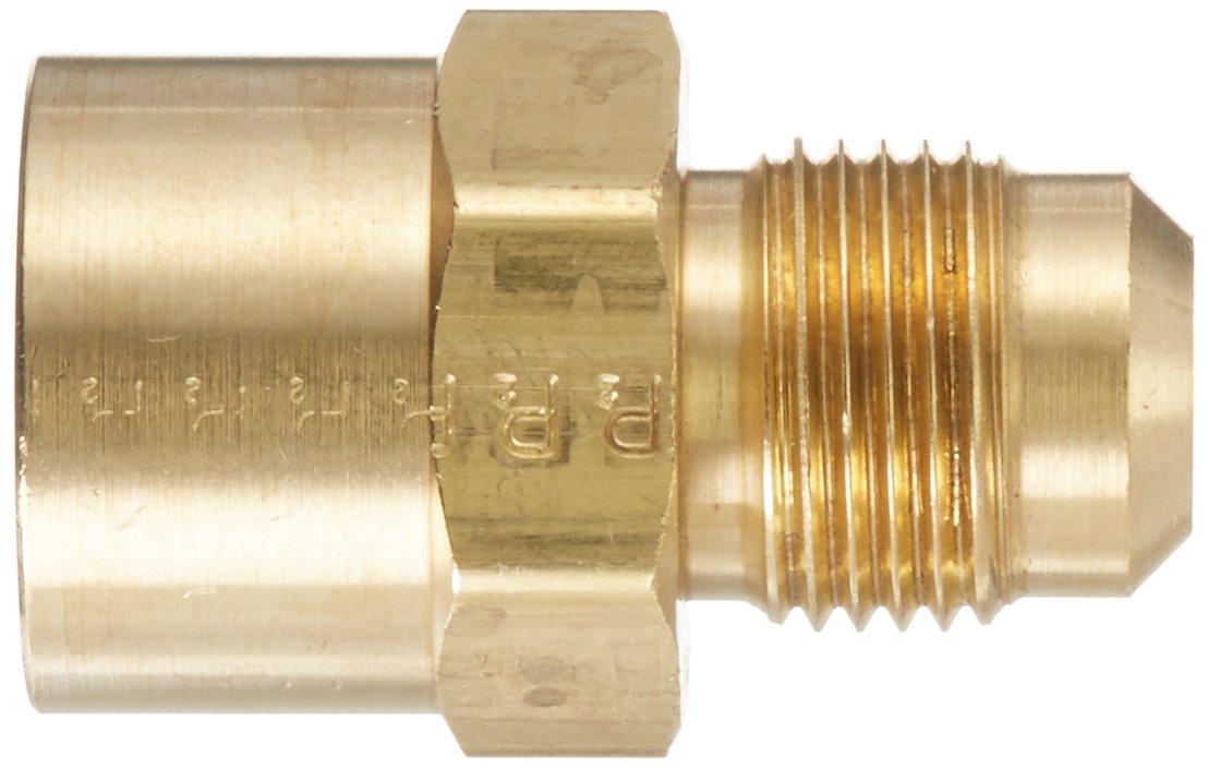 Parker Hannifin 46F-8-8-pk5 Female Connector Pack of 5 Pack of 5 Parker Hannifin Corporation 45 Degree Flare Fitting Brass 1//2 Flare Tube x 1//2 Female Thread 1//2 Flare Tube x 1//2 Female Thread