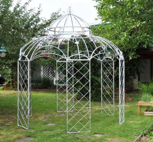 Kuheiga - Cenador estable (galvanizado, 290 cm de diámetro ...