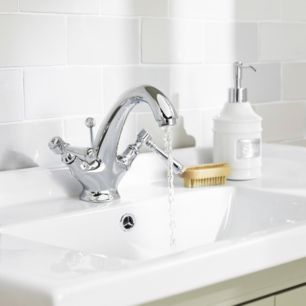Old London Traditional Victorian Bathroom Solid Brass Chrome ...