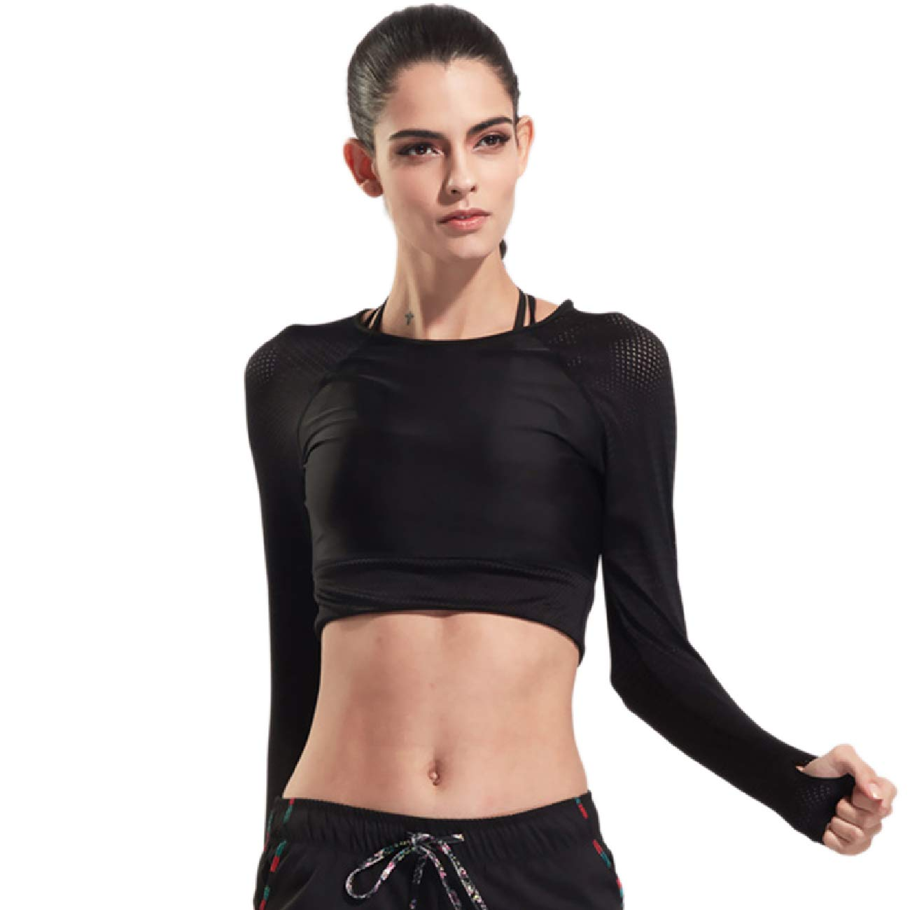 Active Wear Running Fitness Sports Training E Women's Clothing KYEYGWO Sports T Shirts for Woman