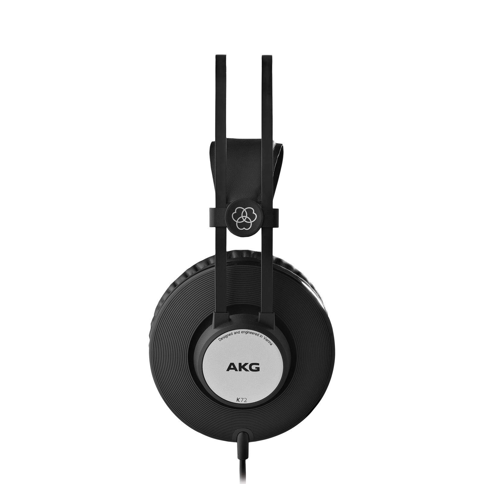 AKG Pro Audio AKG K72 CLOSED-BACK STUDIO HEADPHONES (