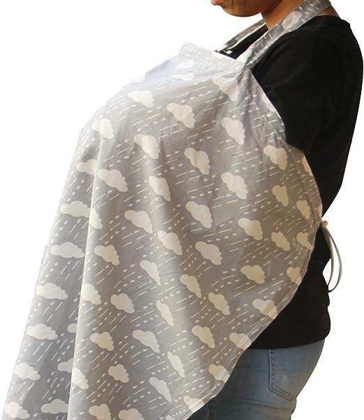 /Écharpe Portage Allaitement en 100/% Coton avec Un Sac de Stokage /à Pliage et Rangement Blanc KAKIBLIN /Écharpe d/'Allaitement B/éb/é