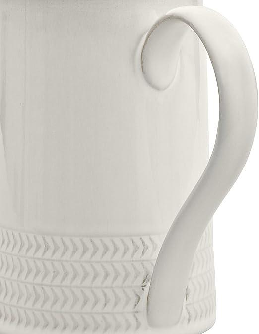 Amazon Com Denby Usa Natural Canvas Textured Medium Jug Pasta Bowls